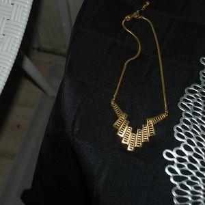 Trifari Gold Tone Necklace